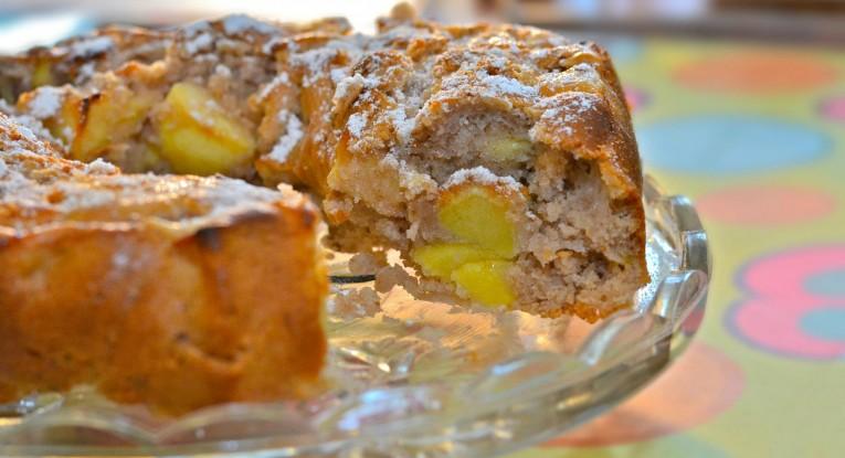 עוגת תפוחים וקינמון מתכון pudding dessert vegan טבעוניות קינוח