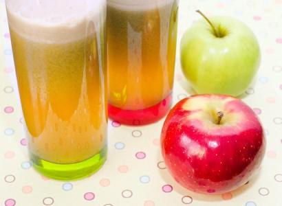 מיץ תפוחים סחוט טרי טבעי טבעוני