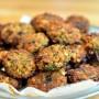 קציצות לביבות עדשים קטניות שעועית טבעוני ירק