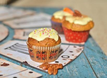 מאפינס גזר מתכון pudding dessert vegan טבעוניות קינוח