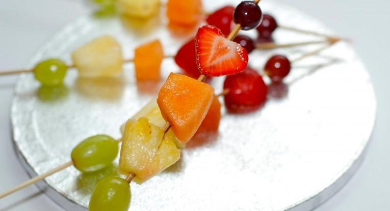 שיפודי פירות מתכון pudding dessert vegan טבעוניות קינוח