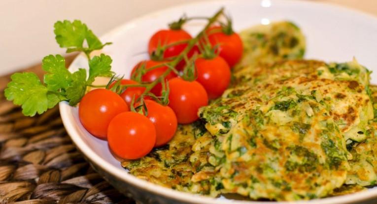 חביתיות ירק חביתת ירק טבעוני