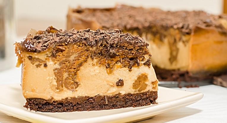 עוגת קרמל שוקולד