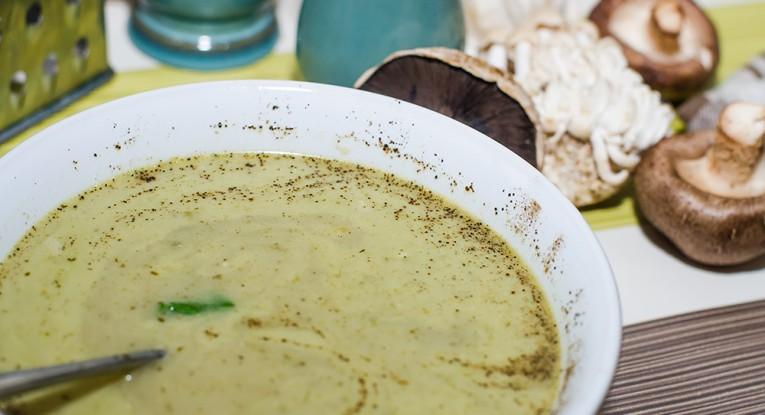 מרק קארי טבעוני עם פטריות