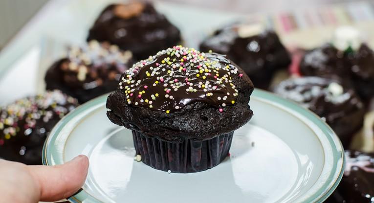 מאפינס שוקולד טבעוני מתכון pudding dessert vegan טבעוניות קינוח