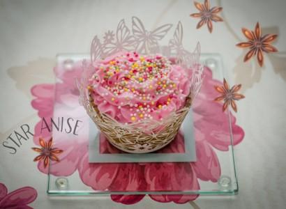 מתכון pudding dessert vegan טבעוניות קינוח קאפקייקס טבעוני בלוברי אניס