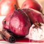 אגסים ביין עם גלידה טבעונית