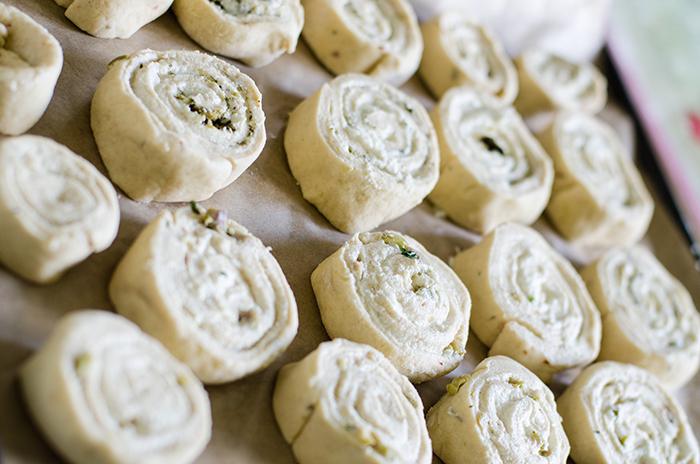 צ'יזרול שבלולי גבינת פטה טבעוני טבעונות