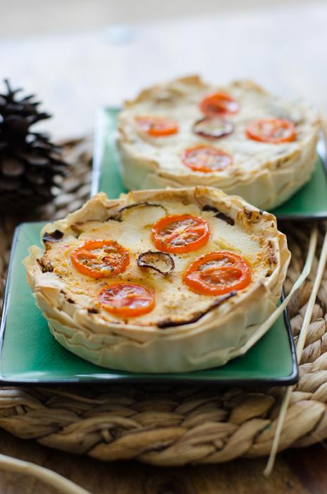 טארט טבעוני לחג שבועות גבינת פטה