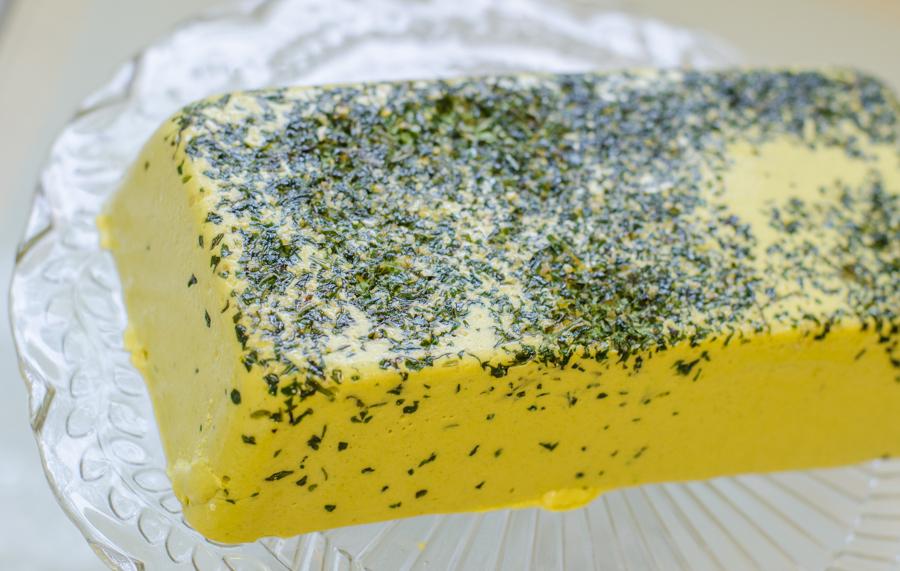 גבינה צהובה מהצומח טבעונית