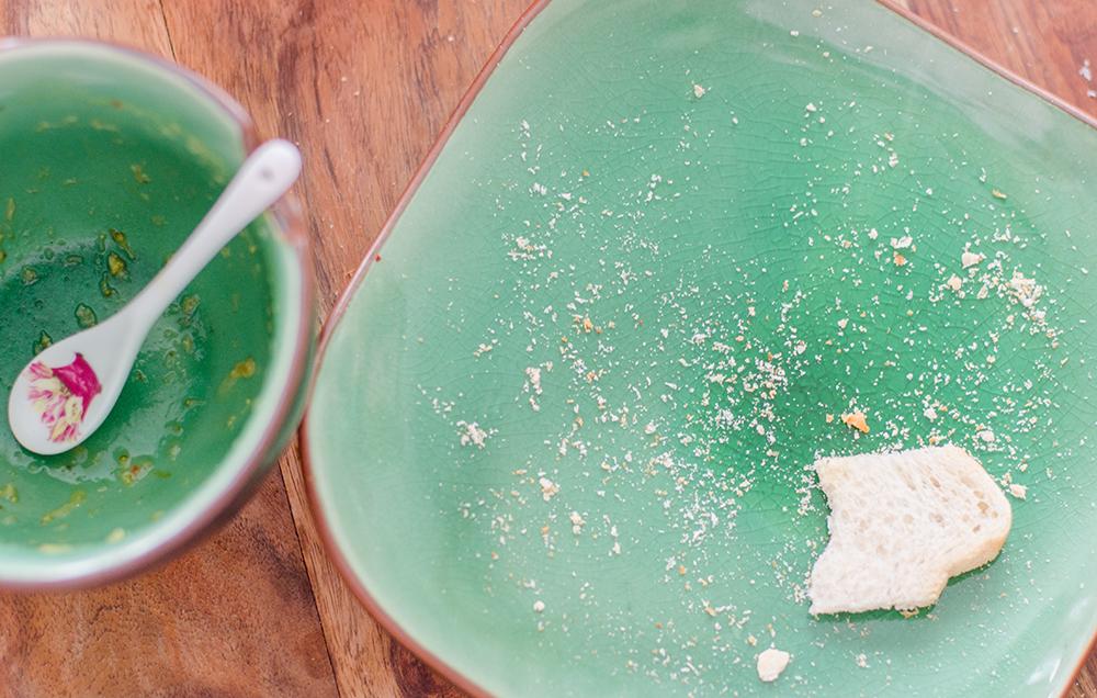 מרק ברוקולי מוקרם טבעוני