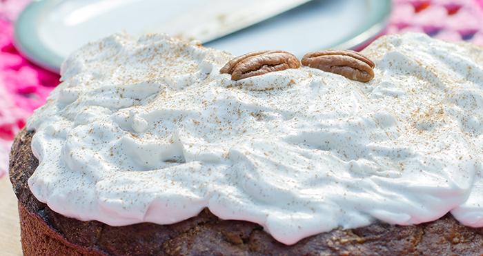 עוגת גזר טבעונית טבעונות