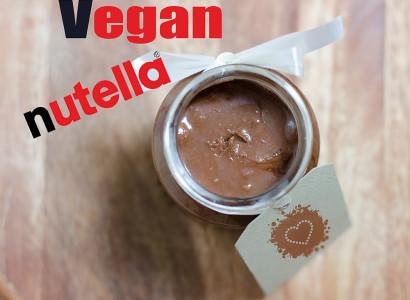 נוטלה טבעוני ממרח שוקולד טבעוני טבעונות vegan nutella