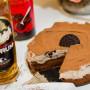 עוגת גבינה טבעונית קשיו קקאו ורום
